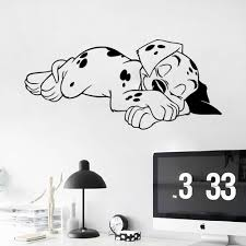 high quality sleeping room wallpapers buy cheap new design creative cartoon cute the sleeping puppy home decoration wall stickers living room sofa