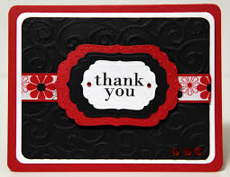 the paper boutique thank you card