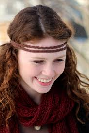 leather headband diy hippie headband brown braided suede leather headband diy