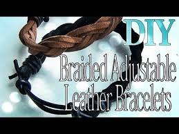 adjustable braided leather bracelet images Diy fashion adjustable braided leather bracelets jpg