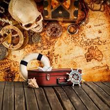 pirate home decor treasure map wall mural pirate wallpaper boys bedroom photo home decor