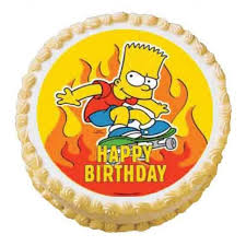 bart edible icing image delicious decorations