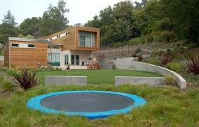 Best Backyard Trampolines Backyard Games And Sport Courts Landscaping Network