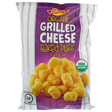 chp code 1141 snikiddy baked corn puffs grilled cheese 4 oz 113 g iherb com