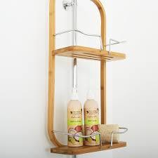 Bed Bath Beyond Shelves 2 Tier Bamboo Shower Caddy Bed Bath U0026 Beyond Flat Ideas