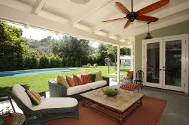 Outdoor Patio Extensions Porch Roof Design Porch Farmhouse With Ceiling Fan Covered Patio