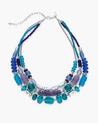 blue fashion necklace images Jewelry necklaces chicos jpg
