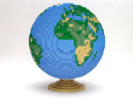 lego images lego globe hd wallpaper and background photos 923470