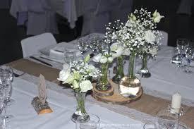 d coration florale mariage décoration table mariage chêtre et rustique mille et une