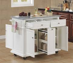 white kitchen island with granite top tresanti saffron granite top kitchen island in white finish at http