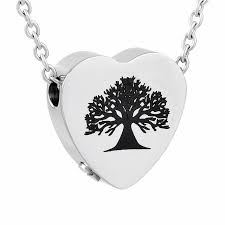 tree cremation ijd9812 wholesale 316l stainless steel pine tree attractive design