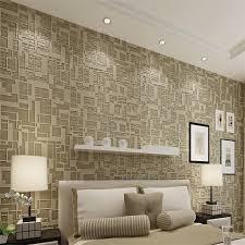 chambre haut de gamme beibehang moderne géométrique 3d papier peint haut de gamme salon