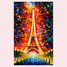 aliexpress com buy 100 handmade romantic city paris eiffel