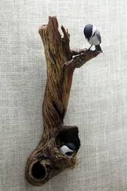 chickadee bird wood carving carved wall by berlinglass