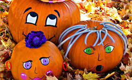 Small Pumpkins Decorating Ideas Fun Halloween Craft Projects