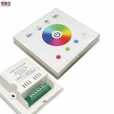 touch screen wall light switch dc12v 4a 4ch led panel digital touch screen dimmer controller home