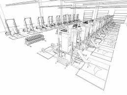 floor plan layout design weight room design layout a modern high athletic weight room