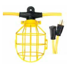heavy duty string lights 100 ft temporary string lights plastic cage order online from