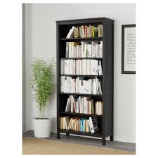 ikea bookshelves hemnes bookcase black brown ikea