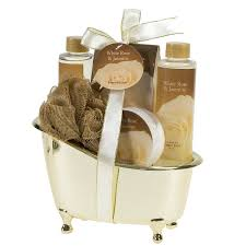 gift sets white gold tub spa bath gift set bath