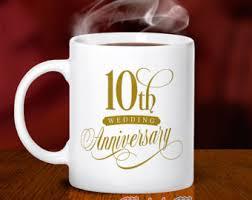 10 wedding anniversary 10 year anniversary gift etsy