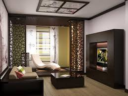 Japanese Style Living Room Furniture Wooden Shelves In The Nearby Living Room Living Room Japanese Furniture Pretty Design With