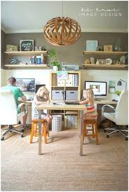 2 Person Desk Ideas Desk Modern White Stained Wooden Study Desk With Storage