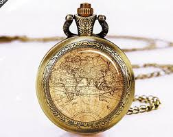 Nautical Themed Watches - anchor pocket watch etsy