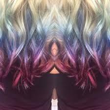 fractal hues ian michael black aveda color colourful hair