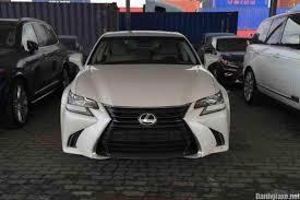 xe lexus sedan đánh giá xe lexus gs200t 2016 đầu tiên xuất hiện tại việt nam