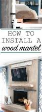 best 25 wood mantels ideas on pinterest rustic mantle wood
