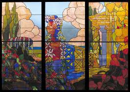 art cellophane on windows kids craft windows stained glass windows