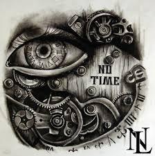steampunk eye clock watch time clock tattoo ideas pinterest