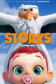 film kartun untuk anak bayi trailer film storks saat bangau kirim paket berisi bayi lucu muvila