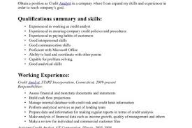 Credit Analyst Resume Sample by Resume Letter Of Credit Reentrycorps