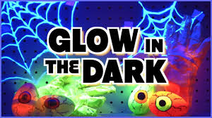 diy glow in the dark room decor halloween decor 2016 youtube