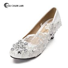 wedding shoes rhinestones free shipping white wedding shoes office shoes bridesmaid bridal