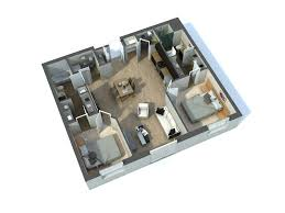 Architectural Floor Plan by 3d Architectural Floor Plans For Marketing Rayvat Engineering