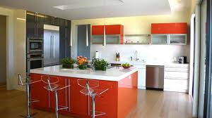 Colorful Kitchen Ideas Colorful Kitchen Decorating Ideas With White Orange Table Kitchen