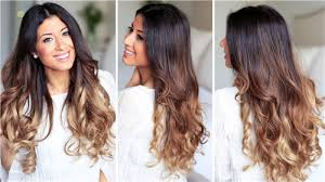 different ways to curl your hair with a wand how to curl your hair with a flat iron with pictures and video