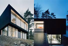 hillside house plans hillside house plan makes contemporary look earthy