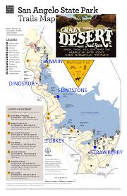 Race Map Crazy Desert Trail Race