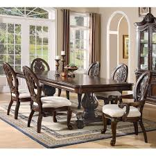 Coaster Dining Room Chairs Pedestal Dining Room Set Coaster Furniture