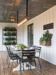 Wood Porch Ceiling Material by Fixer Upper The Colossal Crawford Reno Plant Wall White Wood