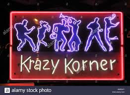 bourbon sign krazy korner neon sign on bourbon quarter new