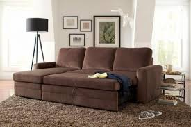 Vreta Sofa Bed by Living Room Microfiber Sleeper Sofas With Handy Caroline Brown