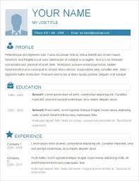 free basic resume outline simple resume sles template resume builder