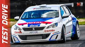 peugeot 308 touring new peugeot 308 racing cup 2017 first test drive youtube