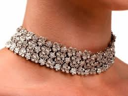 choker necklace jewelry images Diamond choker necklace the beautiful choker necklace jewelry jpeg