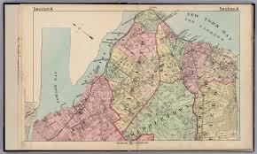 Staten Island Map Section A Northern Staten Island New York David Rumsey